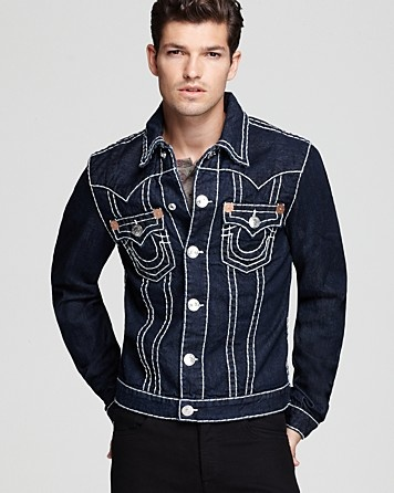 True Religion Denim Jacket in Body Rinse - Coats & Jackets - Apparel - Men's - Bloomingdale's