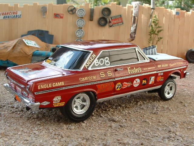 '63 Nova Gasser - Scale Auto Magazine - For building plastic & resin scale model cars, trucks, motorcycles, & dioramas
