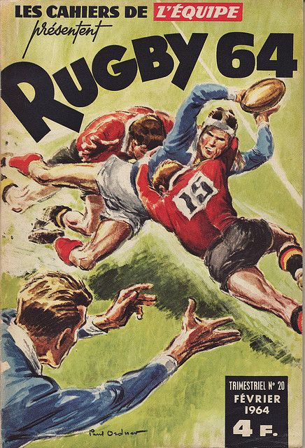 Cahiers de l'Equipe Rugby 1964 by Frederic Humbert (www.rugby-pioneers.com), via Flickr