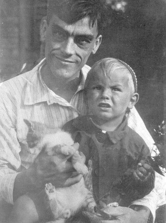#ADVOCATE1612 Arseny Tarkovsky and his son Andrew, tytusjaneta