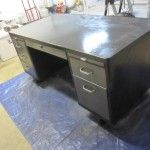 How to refinish a tanker desk