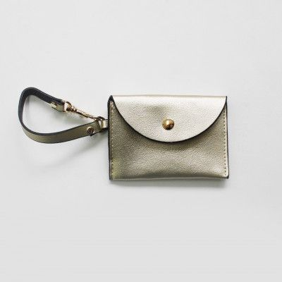 Redcurrent Gold Essential Card & Coin Holder $19.50.