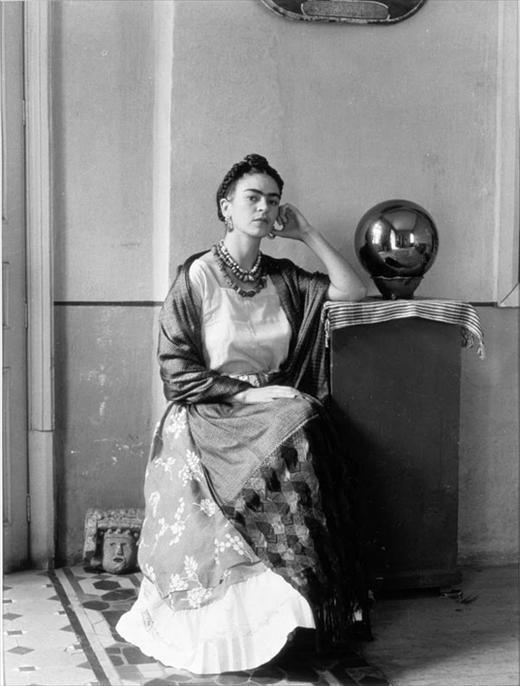 Frida Kahlo in Manuel Alvarez Bravo's Studio, 1930s