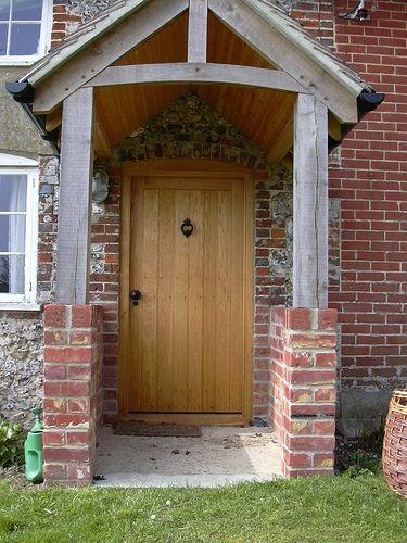 oak cottage door