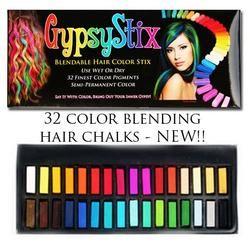 32 Color Hair Chalk Set
