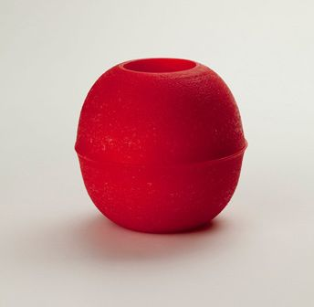 Moth to a Flame - Red Glowglobe Candle