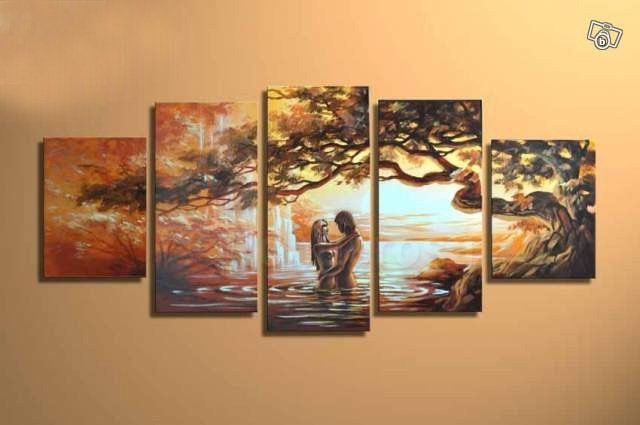 Love - Direct Art Australia. Price: $389.00,  Shipping: Free Shipping,  Size of Parts: 35cm x 50cm x 2 panels + 35cm x 70cm x 2 panel + 35cm x 80cm x 1 panel,  Total Size (W x H): 175cm x 80cm,  Delivery: 14 - 21 Days,  Framing: Framed & Ready to Hang!  100% Oil Painting on Canvas!  We handpaint all our wall art decor paintings - no prints, posters or canvas prints.  http://www.directartaustralia.com.au/