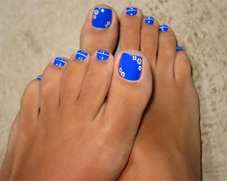 15 Pretty Toe Nail Art Designs, Ideas, Trends & Stickers 2014