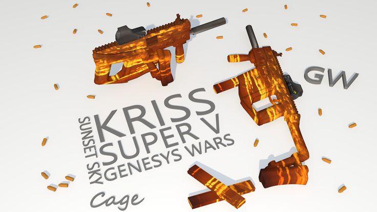 Kriss Vector 'Sunset Sky' By: Nikolas 'Cage' Griep