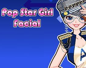 Pop Star Girl Facial - FRIV Juegos Games - friverr.com
