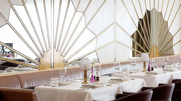 Restaurant Design | Dining room design, Restaurants and Art deco