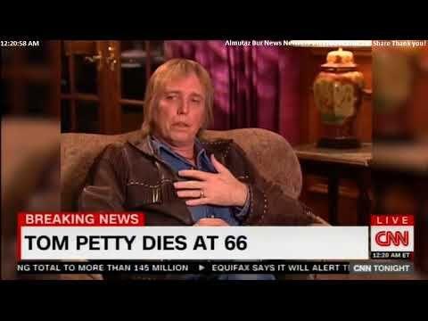 Breaking News: Tom Petty Dies at 66. #Breaking #TomPetty - YouTube