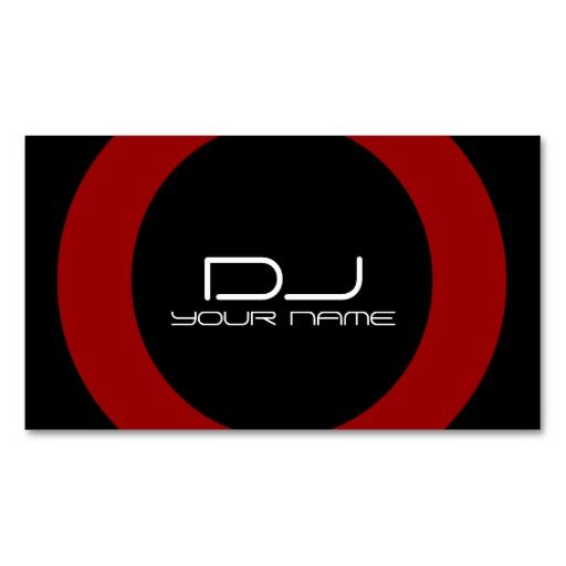 335 best dj business card templates images on pinterest dj make a terrific first impression with this dj business card customise this design as your own just in minutes reheart Gallery