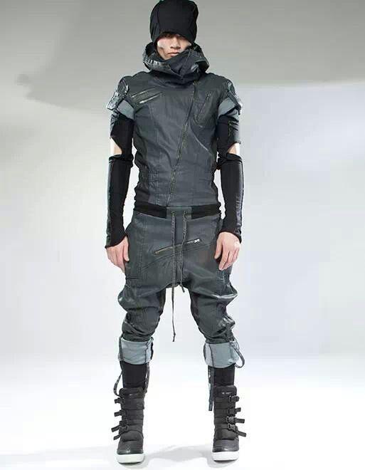 Womens Cyberpunk Fashion