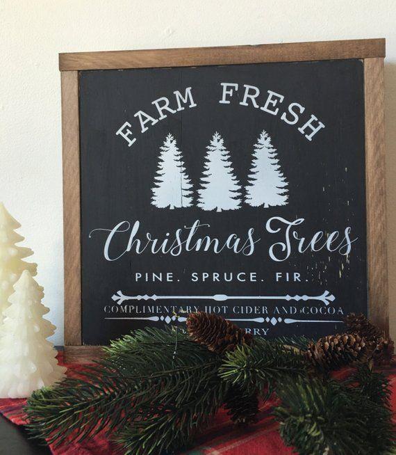 My Paisley World Farmhouse Style Christmas Christmas Tree Farm Tree Farms