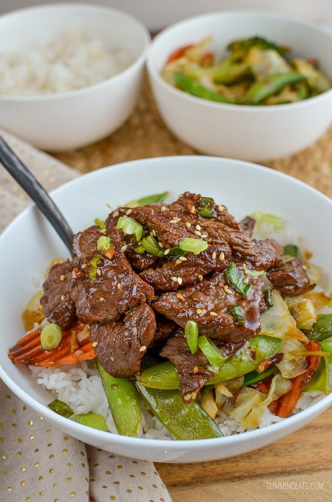 Slimming Eats - Slimming World Recipes Beef Teriyaki | Slimming Eats - Slimming World Recipes