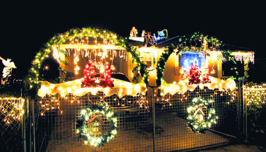 Many #Barbados homes & businesses are elaborately decorated for the Christmas season.