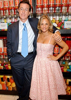 Love Amy Sedaris and Stephen Colbert