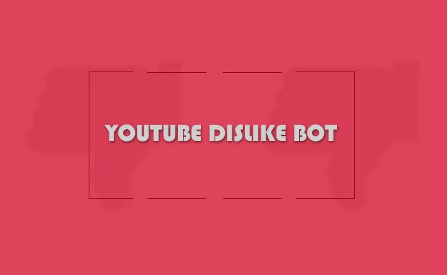 The Youtube Dislike Bot Army Much Hyped And Hated In 2021 Learn Social Media Dislike Youtube