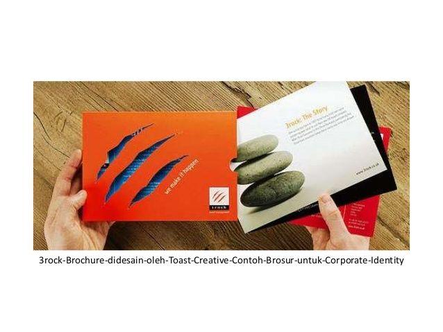 18 contoh desain brosur untuk corporate identity