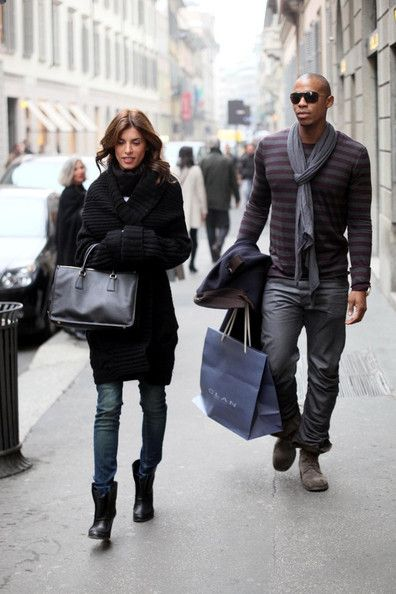 Elisabetta Canalis - Elisabetta Canalis With a New Guy