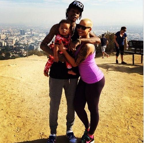 Wiz Khalifa and Amber Rose's photos of Sebastian aka 'Bash'