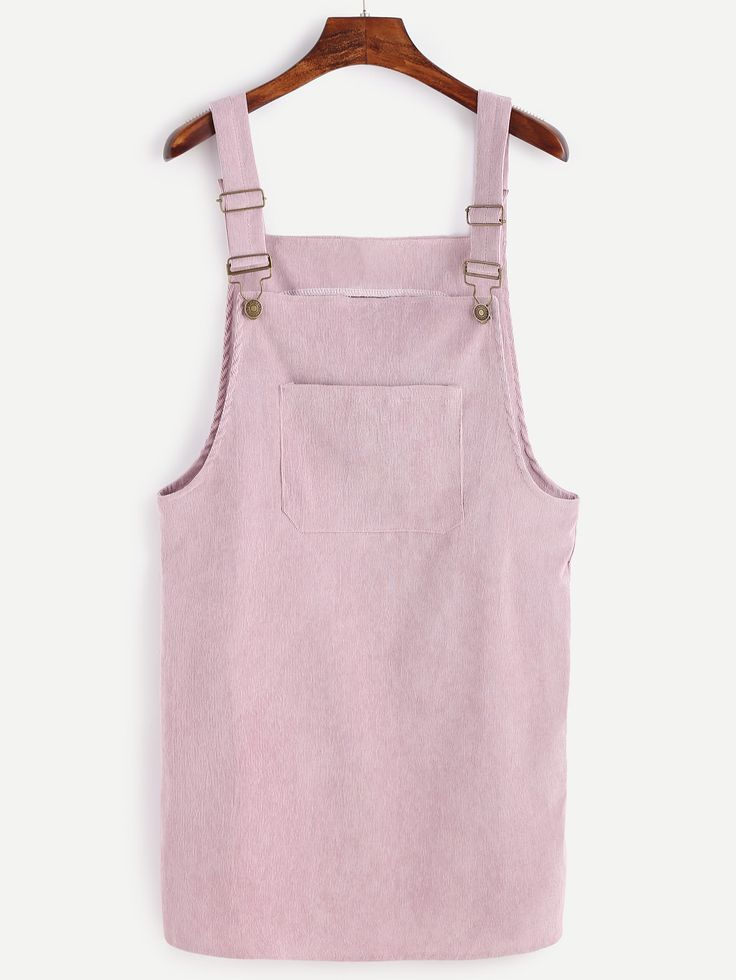 Shop Corduroy Overall Dress With Pocket online. SheIn offers Corduroy Overall Dress With Pocket & more to fit your fashionable needs.
