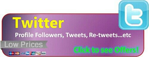 Buy Real Twitter Followers, Twets and Retweets  http://likesplanet.com/addcomp.php?packtype=twitter&aaa=1  http://likesplanet.com/promote.php?ref=TheWoodyWoodpecker17