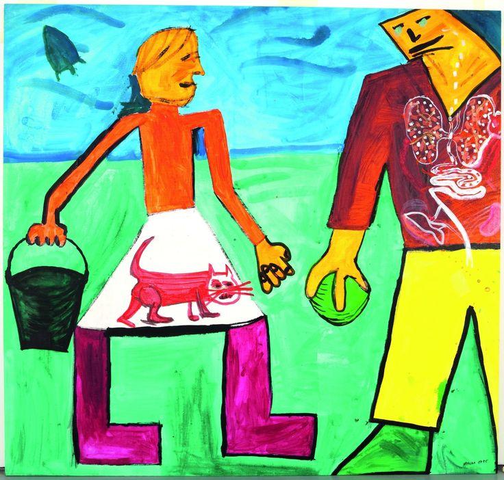 Le Centre Pompidou vient d'inaugurer une exposition unique et remarquable, dédiée à l'art contemporain en URSS et en Russie, de 1950 à 2000. Grâce au soutien de 40 donateurs et de la fondation Vladimir Potanin : « Renforcer la collection russe du Centre...