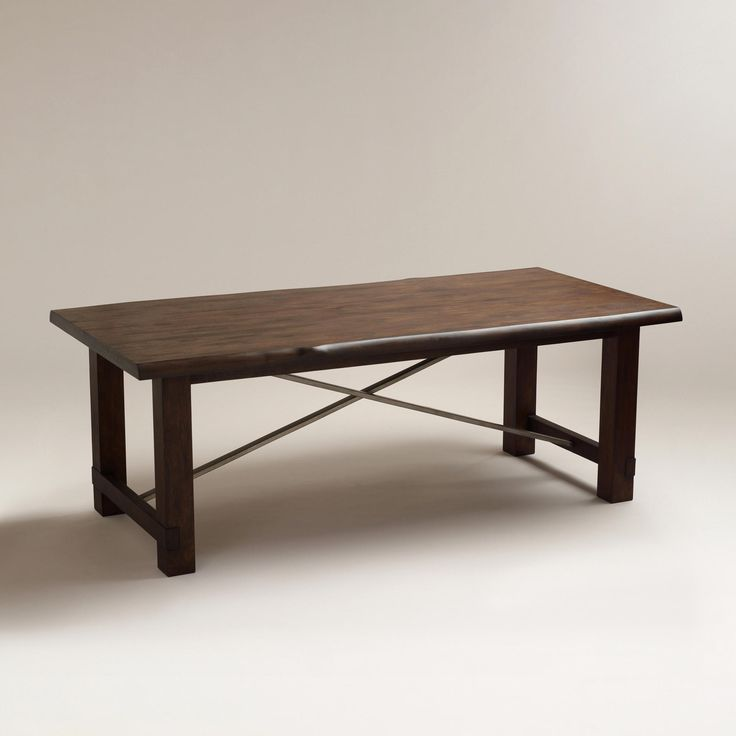 Ridge Dining Table World Market World Market Dining Table Rustic Dining Room Table Dining Table