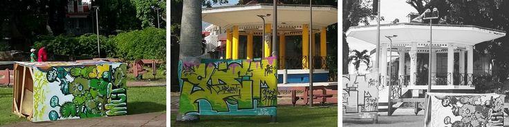 A Pointe-à-Pitre, en Guadeloupe, le street art, qui rime pour moi avec nouveauté, modernité, couleurs, est partout.