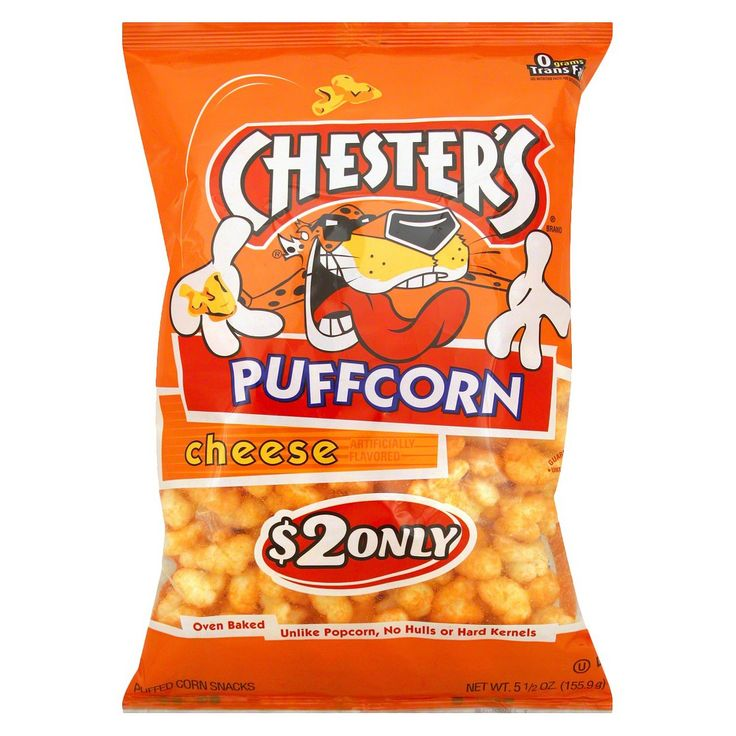 Chester's Puffcorn Cheese Puffed Corn Snacks 5.5 oz