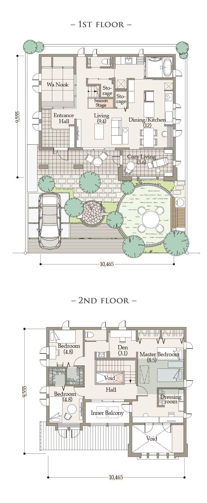 プラン   Oakley Ⅱ(オークリー 2)  商品ラインナップ   戸建住宅  〈公式〉三井ホーム(注文住宅、賃貸・土地活用、医院・施設建築、リフォーム)