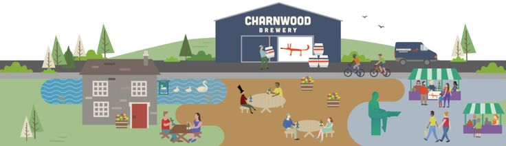 Charnwood Brewery, Loughborough - featuring the brewery, Loughborough market and a local pub!