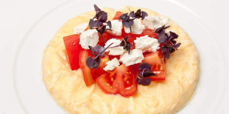 Nigel Mendham elevates the humble omelette to a thing of beauty with goat's curd and heirloom tomatoes in this summery recipe