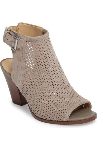 SAM EDELMAN Henri Open Toe Bootie (Women). #samedelman #shoes #boots