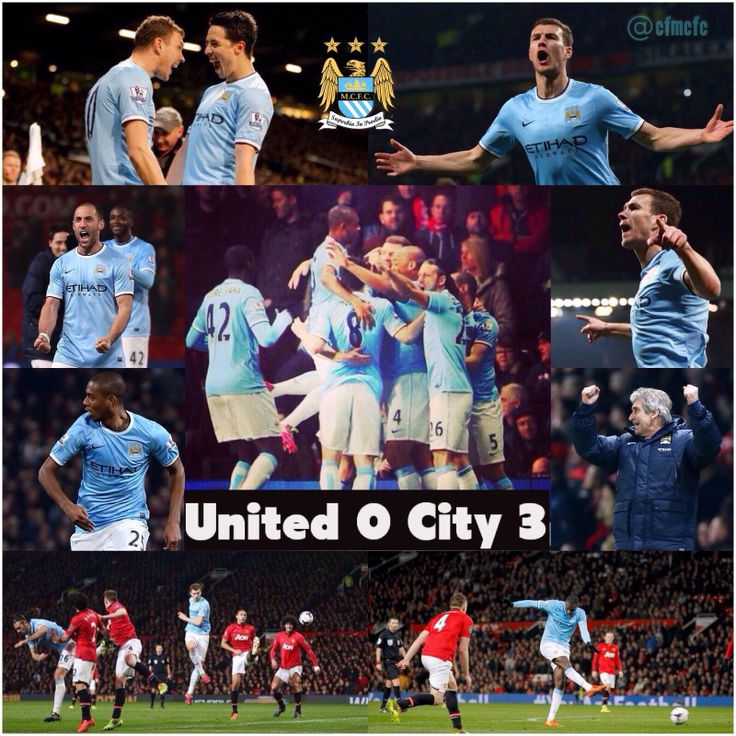 Match action wallpaper United 0 City 3 #mcfc #manchester #city