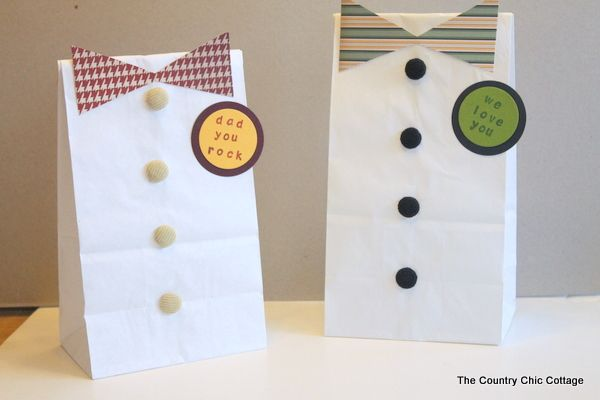 DIY Father's Day Gift Bags plus more dad and grad ideas for you! http://www.thecountrychiccottage.net/2013/05/diy-fathers-day-gift-bags-plus-more-dad.html?