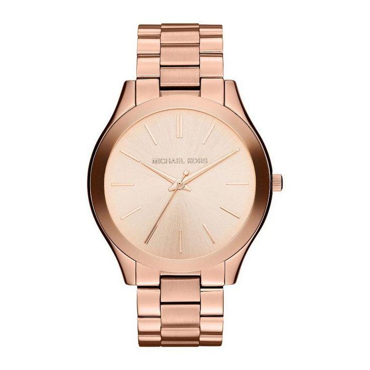 #MichaelKors #SlimRunway #horloge #rosegoud #sieraden #accessoires #wehkamp