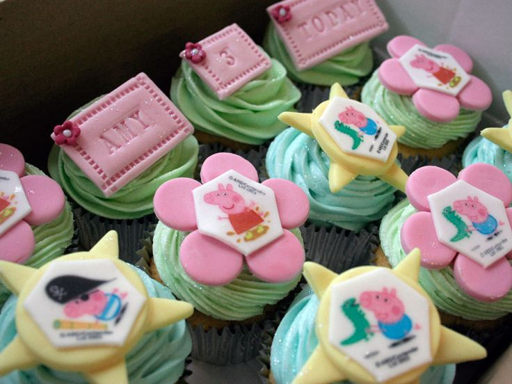 Planning a Peppa Pig 3rd Birthday Party And Cup Cakes | Yummity.co.uk