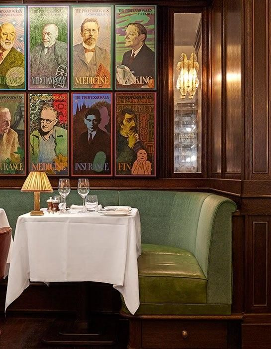 See the newly revamped Ivy restaurant in London's West End