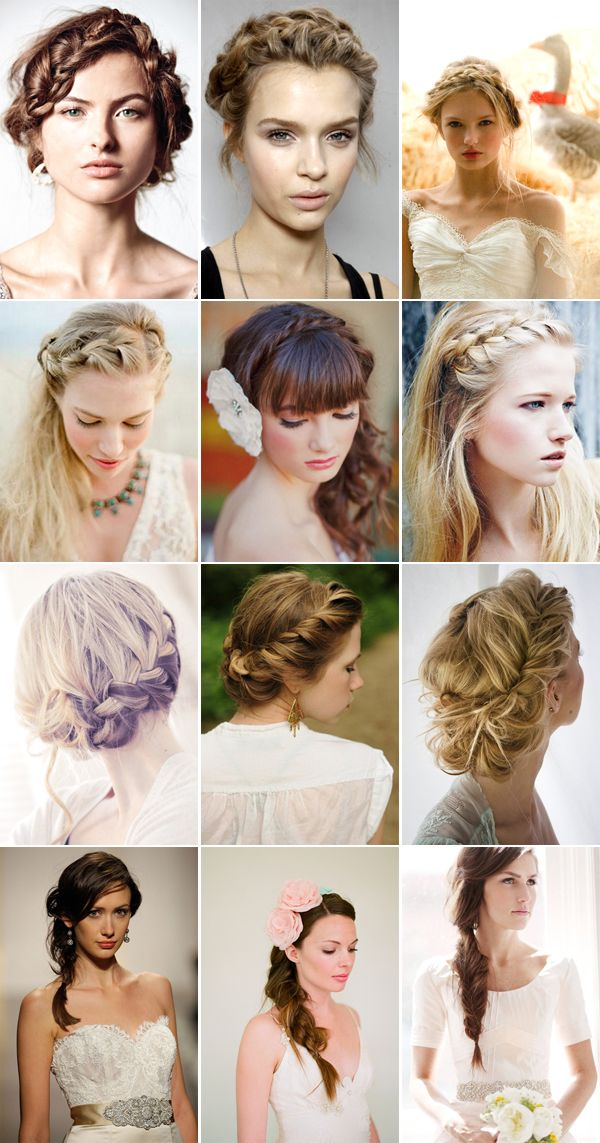 {Trend Alert} Bohemian Braids For Your Wedding Hairdo - from our Pixel & Ink Wedding Blog