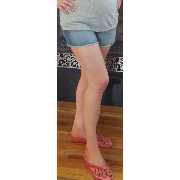 Oh Baby Maternity Shorts - Bump Glow Maternity