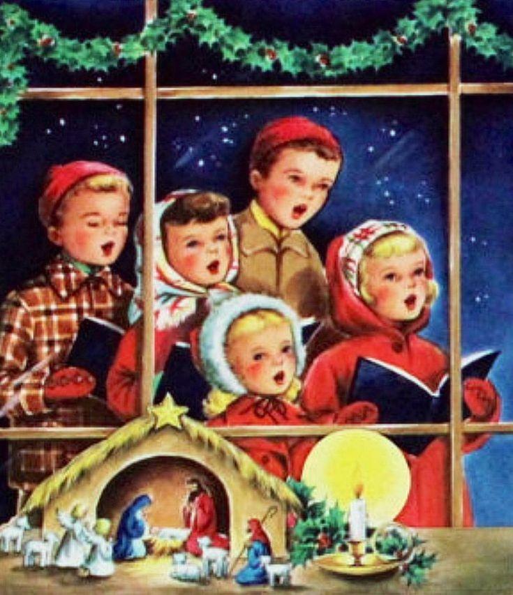 1060 best *Noël * Petits chanteurs * Christmas Carolers* images on ...