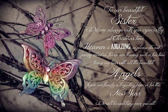 Sister in Heaven Poem | CarlyMarie › Portfolio › Our ...