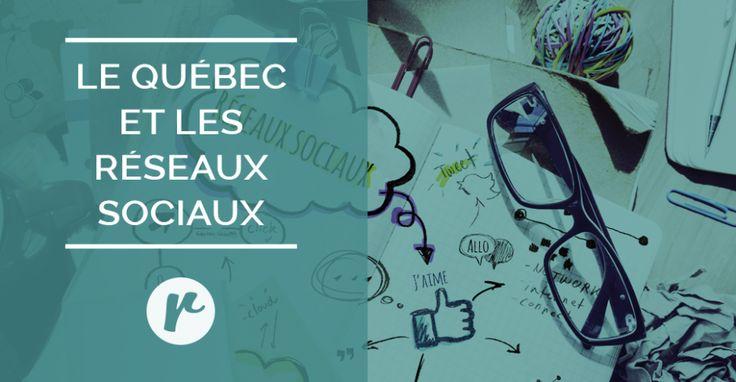 Portrait de l'utilisation des réseaux sociaux par les Québécois et Québécoises