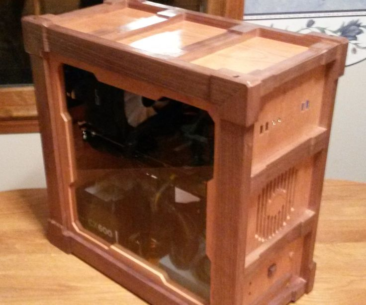 Hi! This is an Instructable for a customized computer box which I created in order to safely house all the hardware of my new custom desktop computer. I wanted to...