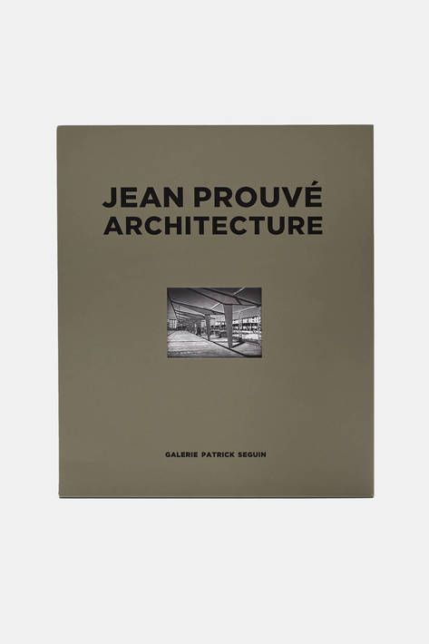The second in Galerie Patrick Seguin's series of boxed sets on Jean Prouvé's démontable architecture