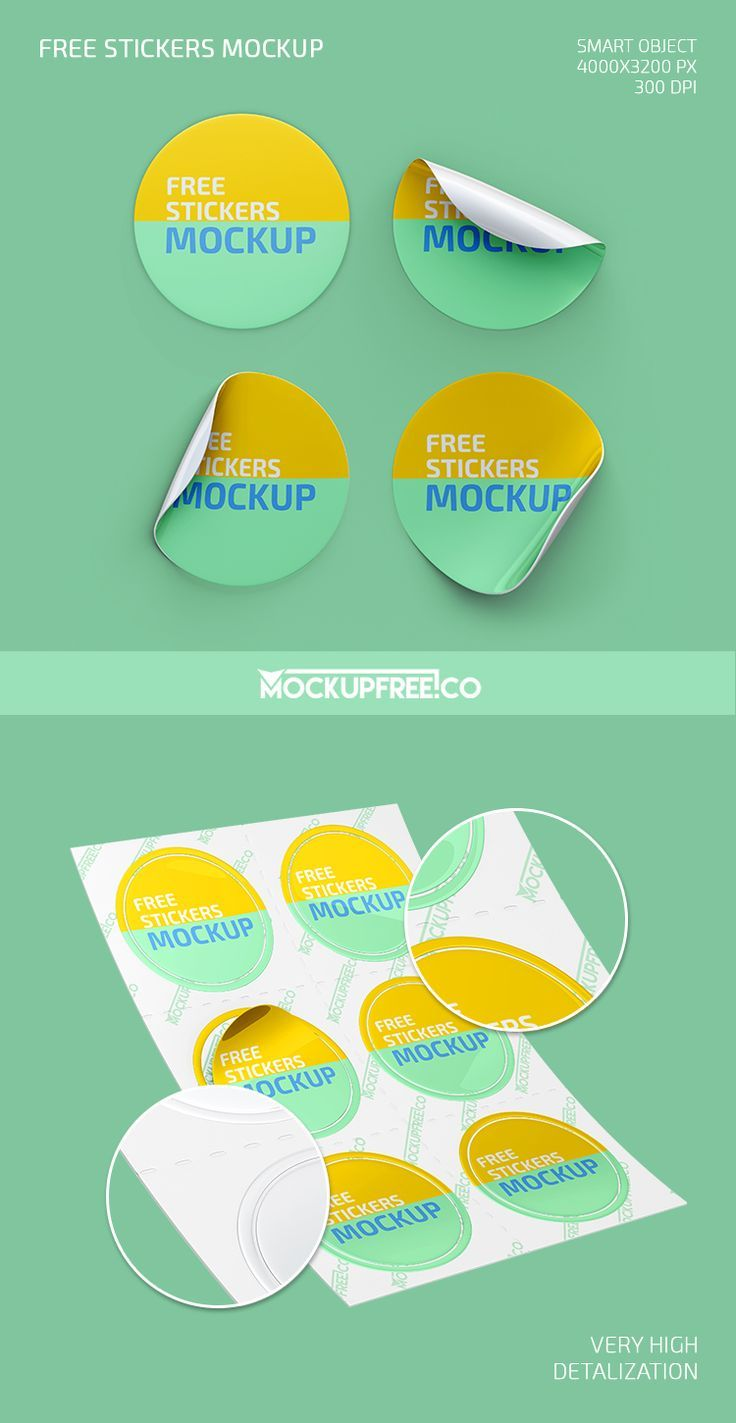 Stickers Free Psd Mockup Mockupfree Co Mockup Free Psd Design Mockup Free Free Psd