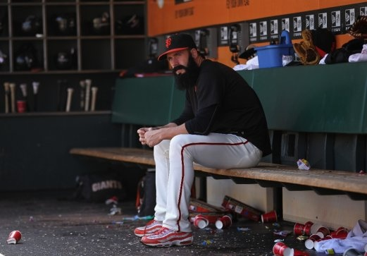 Could this be Brian Wilson's final week as a Giant?
